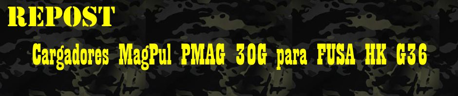 Repost Cargadores Magpul Pmag 30g Para Fusa Hk G36 El Blog De