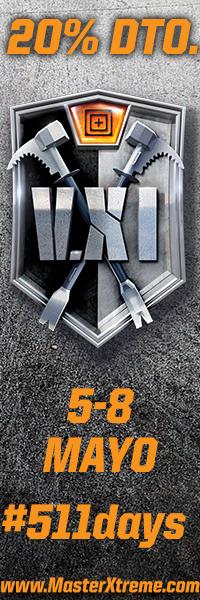 5.11 Days. Del 5 al 8 de mayor 20 % de descuente en MasterXtreme.