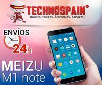 El mejor precio con garantía de 2 años. MEIZU M1 Note en TechnoSpain.